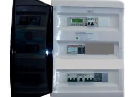 Аксессуар для вентиляции Breezart CP-JL201-PEXT-P24V-BOX2 - в корпусе (металлический щит), питание 24В