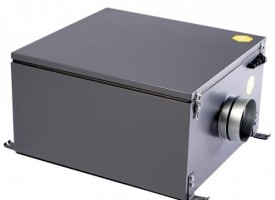 Компактная приточная установка с электрическим нагревателем Minibox E-300-1/2.4kW/G4 GTC