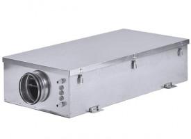 Компактная приточная установка с электрическим нагревателем Shuft ECO-SLIM 1100-9,0/3 - А