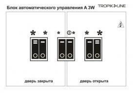 Блок управления Tropik Line A3W Т